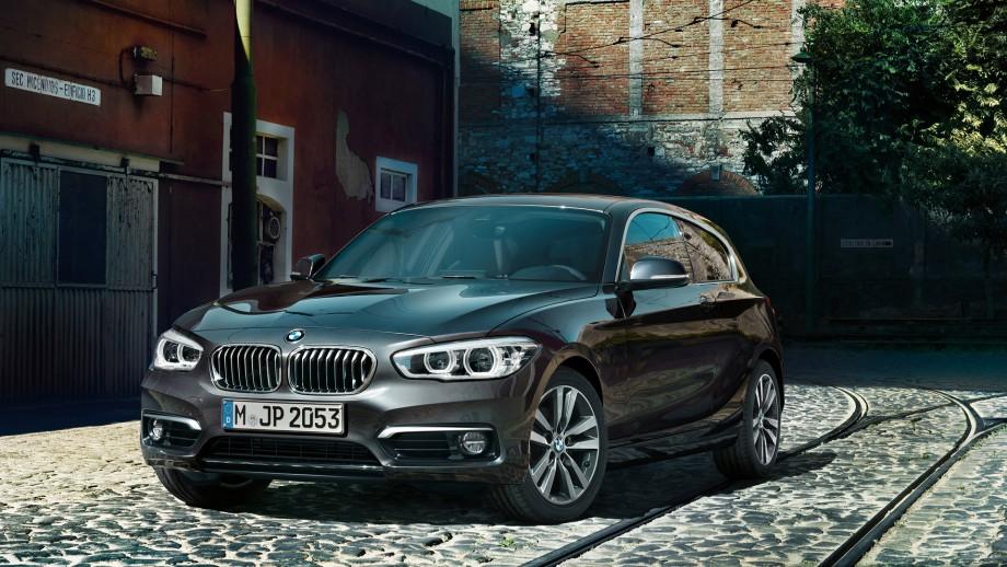 BMW 1er 3-Türer grau