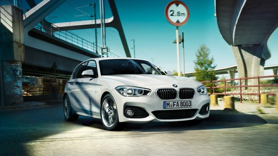 BMW 1er 5-Türer weiss