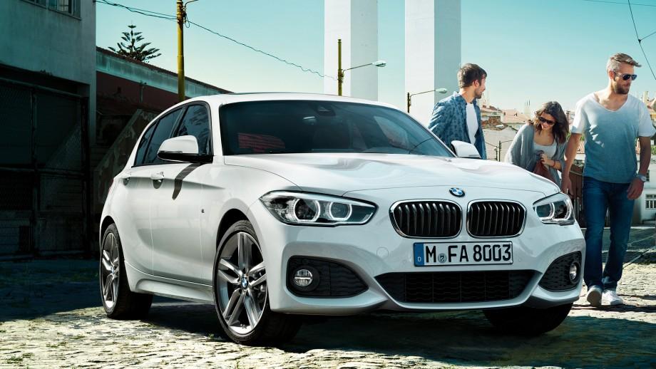 BMW 1er 5-Türer Facelift