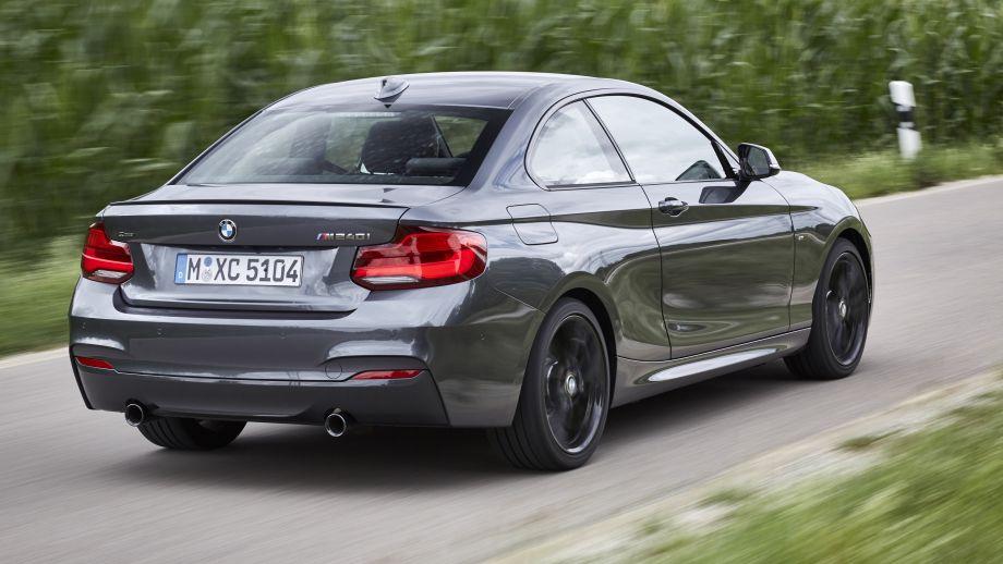 BMW 2er Coupé LCI Heck