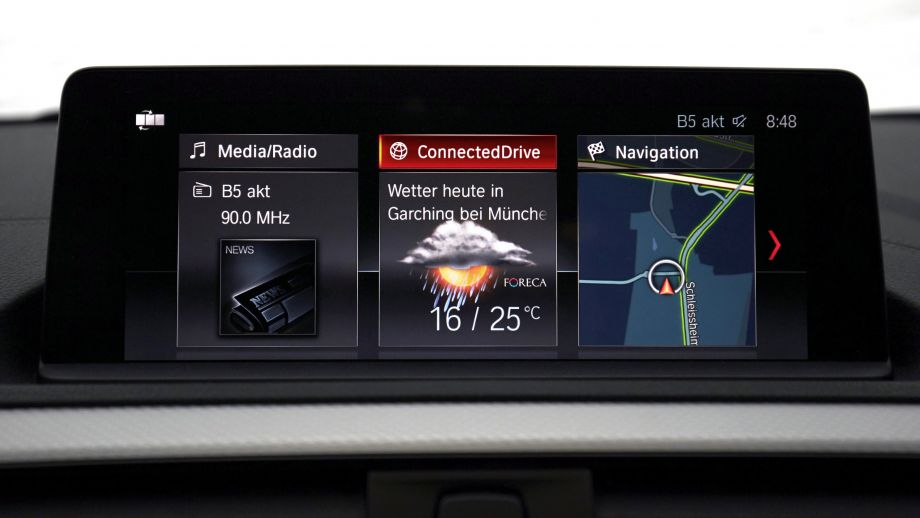 BMW 2er Coupé LCI Infotainment