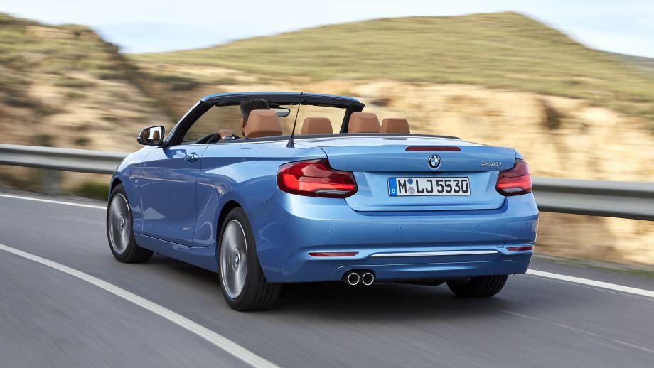 BMW 2er Carbiolet LCI Heck