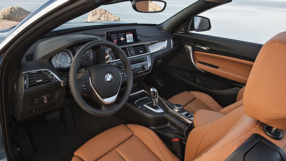 BMW 2er Carbiolet LCI Interieur