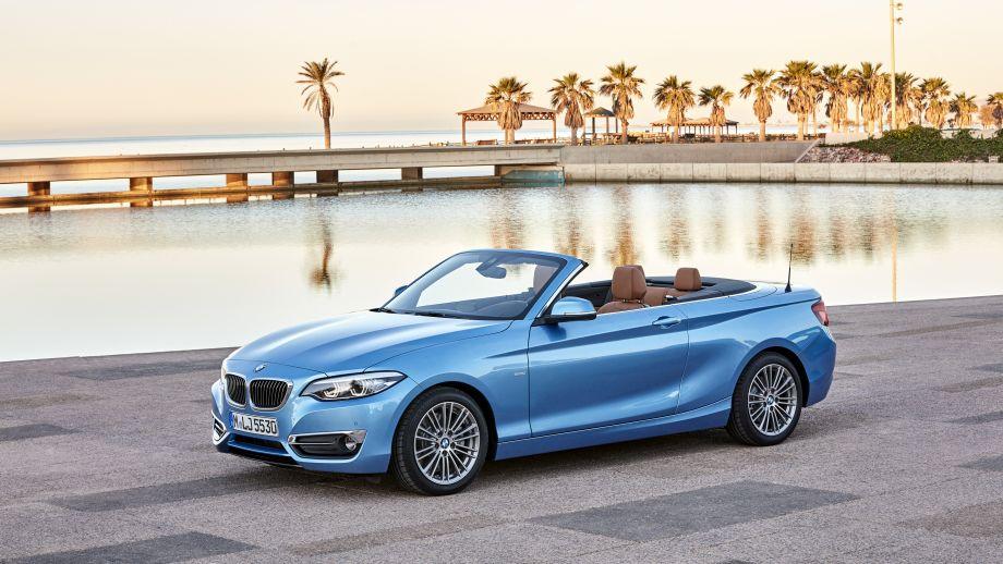 BMW 2er Carbiolet LCI offen