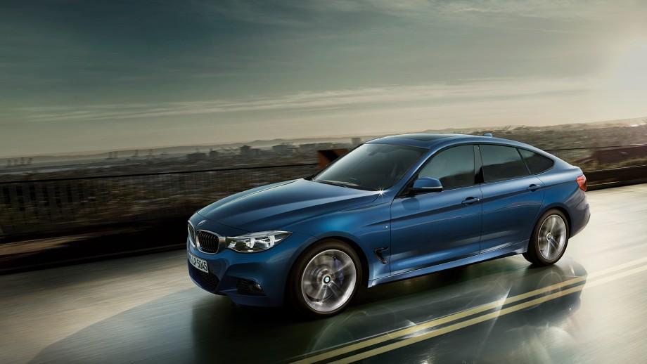 BMW 3er Gran Turismo blau