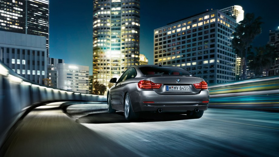 BMW 4er Coupé Heck