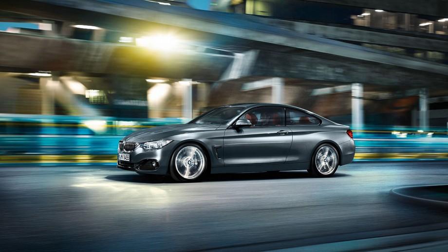 BMW 4er Coupé grau