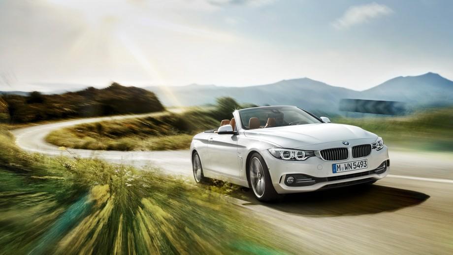 BMW 4er Cabriolet weiss
