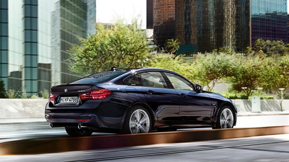 BMW 4er Gran Coupé schwarz