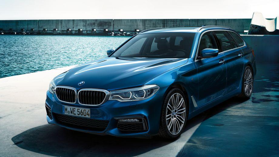 BMW 5er Touring Kombi Front