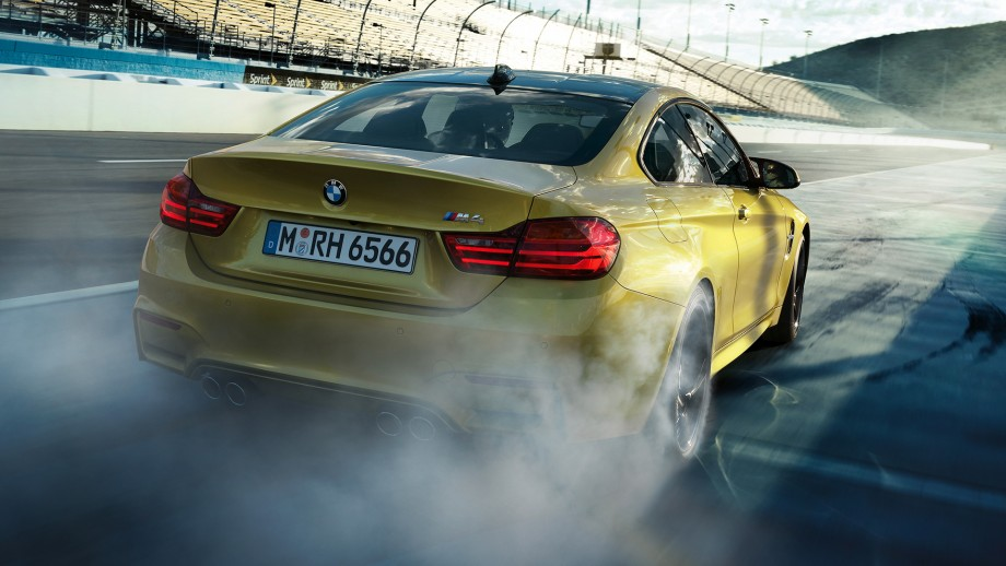 BMW M4 Coupé Burnout