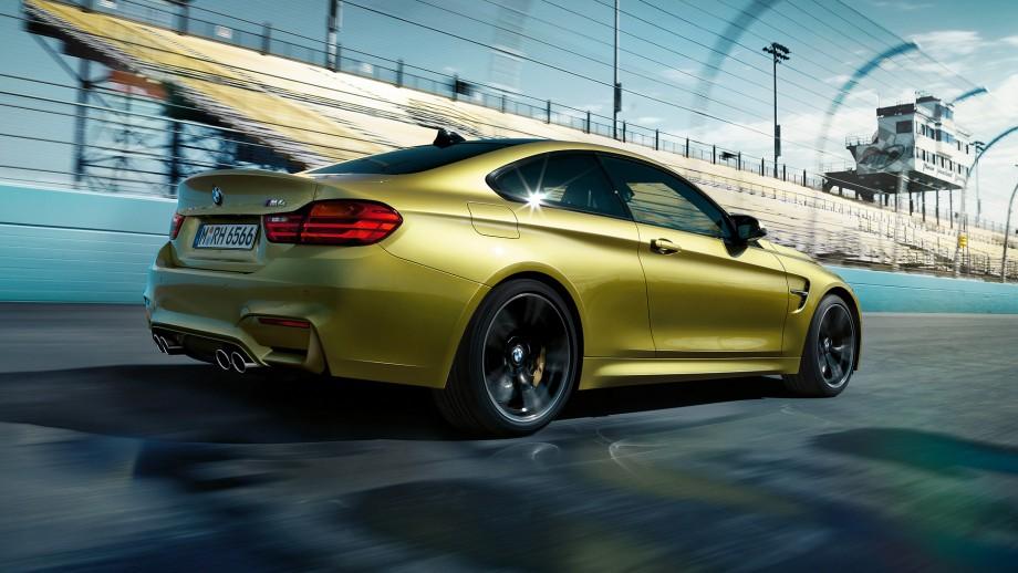 BMW M4 Coupé Seite