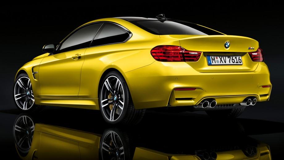 BMW M4 Coupé Heck