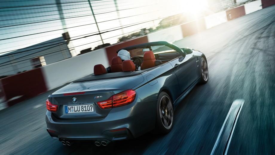 BMW M4 Cabriolet Heck