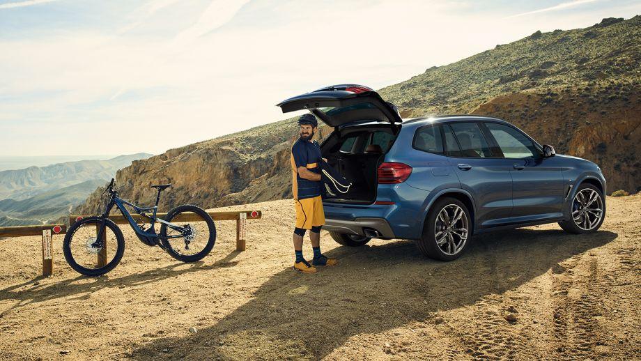 BMW X3 SUV Kofferraum