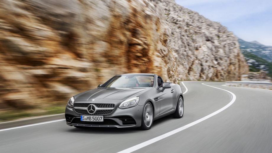 Mercedes-Benz SLC Roadster Front