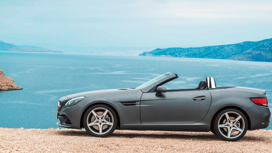 Mercedes-Benz SLC Roadster grau