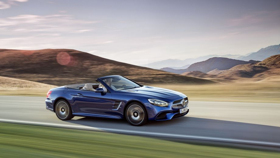 Mercedes-Benz SL 500 Roadster blau