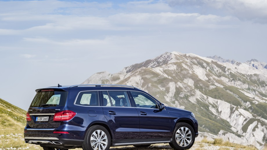 Mercedes-Benz GLS SUV blau