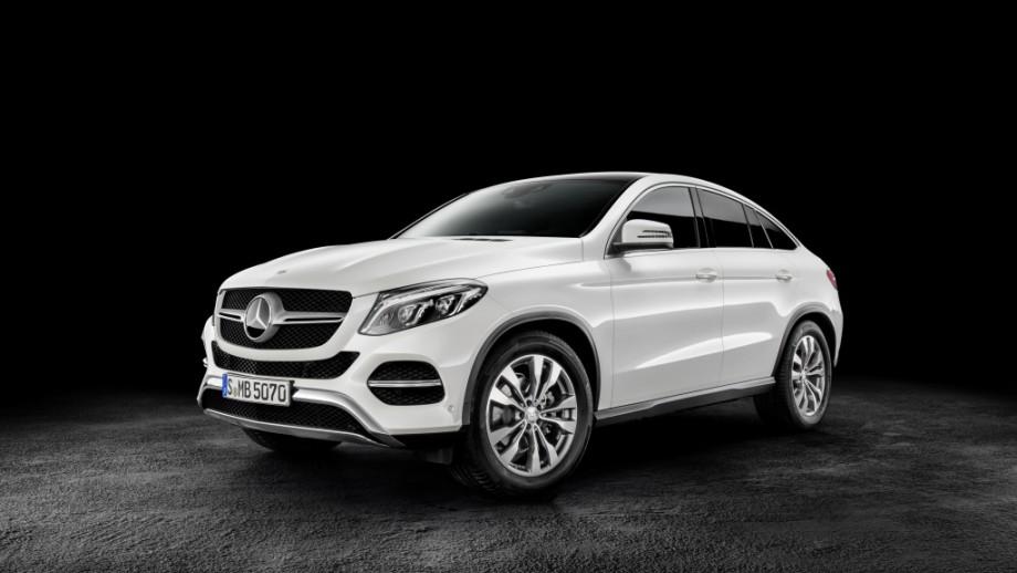Mercedes-Benz GLE Coupé weiss