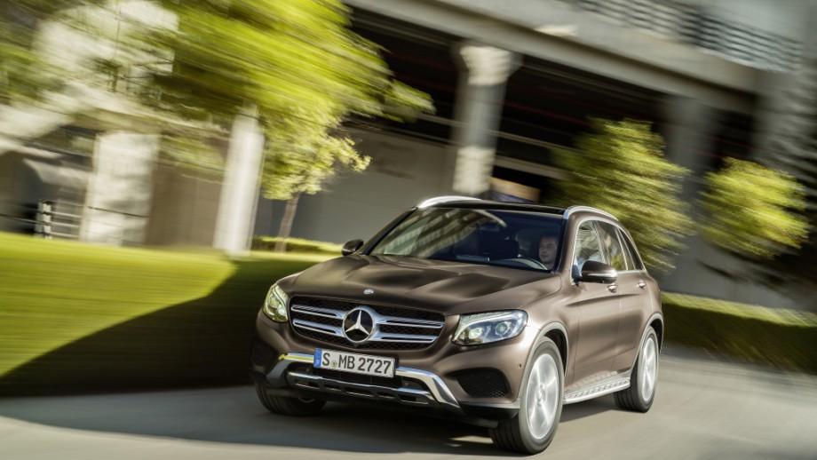 Mercedes-Benz GLC SUV braun
