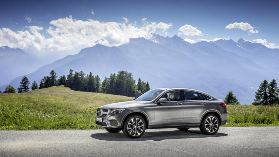 Mercedes-Benz GLC Coupé grau