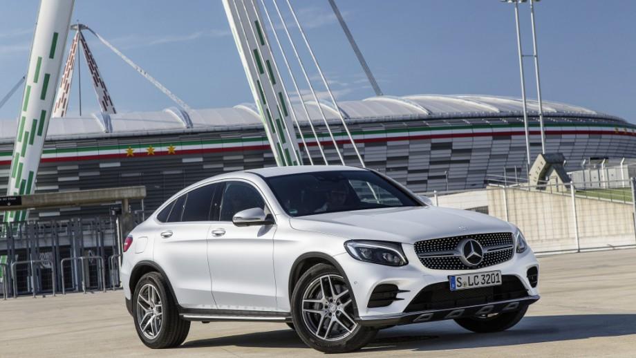 Mercedes-Benz GLC Coupé Front