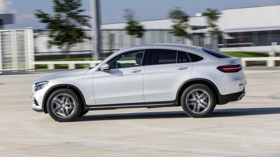 Mercedes-Benz GLC Coupé weiss