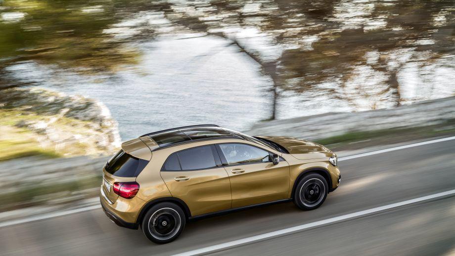Mercedes-Benz GLA Facelift 2017 Seite