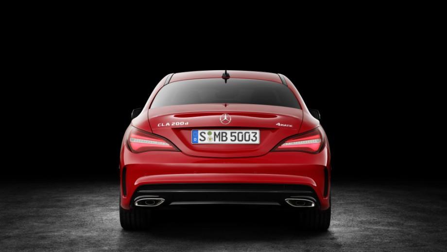 Mercedes-Benz CLA Coupé Heck