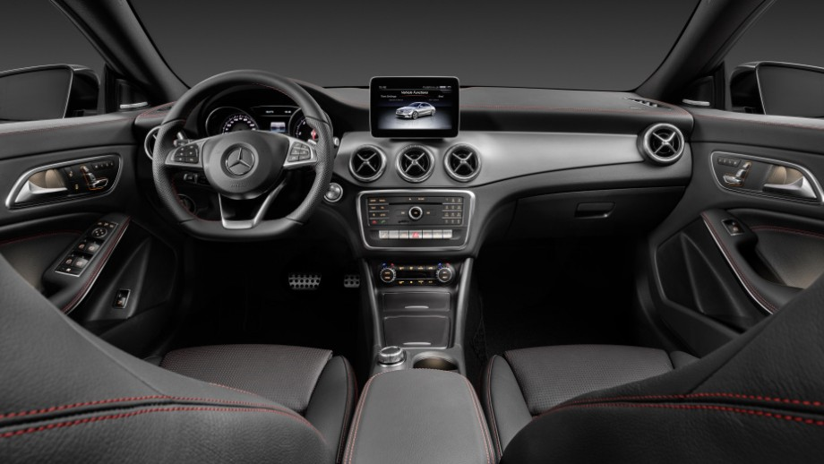 Mercedes-Benz CLA Shooting Brake Interieur