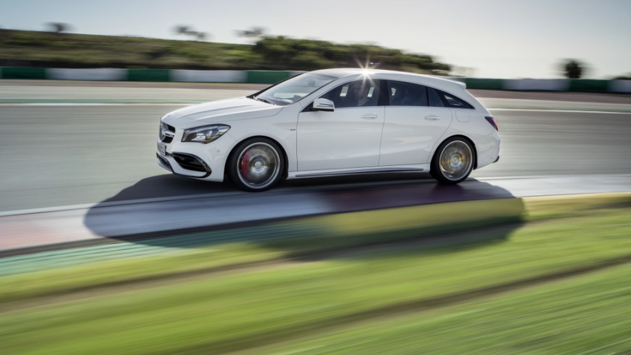 Mercedes-Benz CLA Shooting Brake Kombi