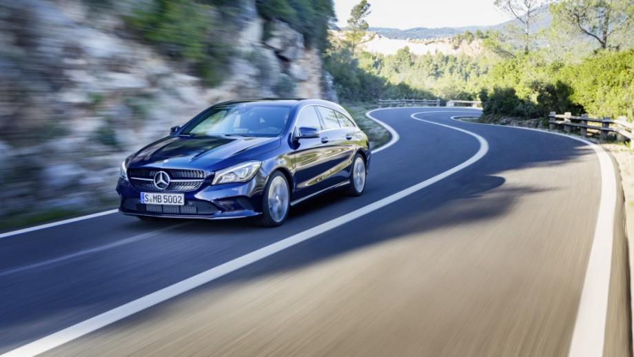 Mercedes-Benz CLA Shooting Brake Front