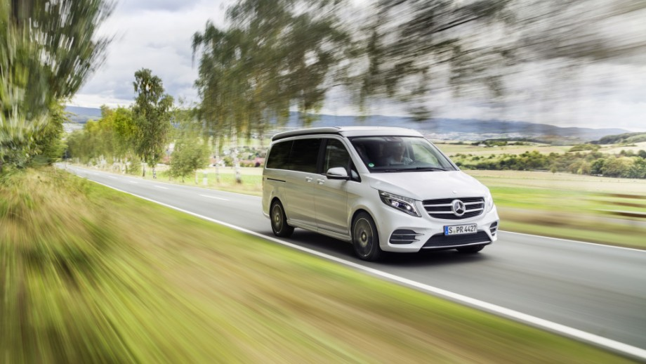 Mercedes-Benz V-Klasse weiss