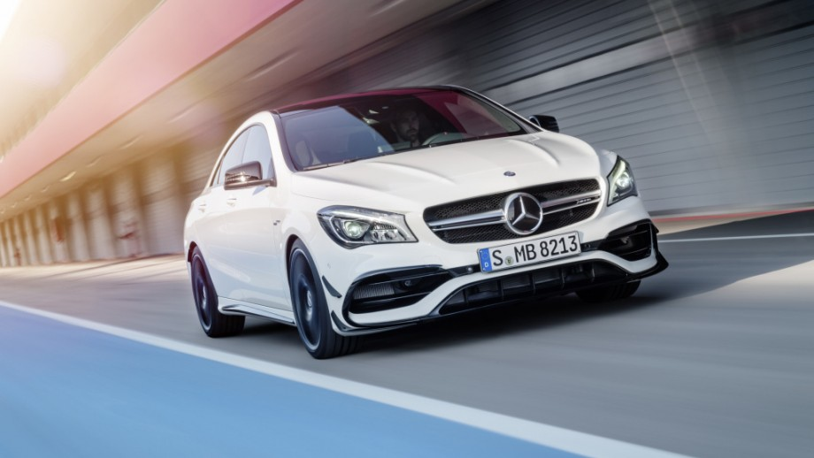 Mercedes-AMG CLA 45 4MATIC Front