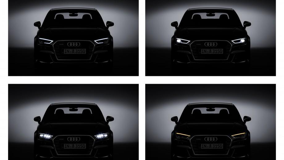 Audi A3 Limousine Lichtdesign