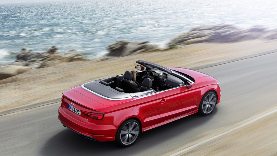 Audi A3 Cabriolet rot