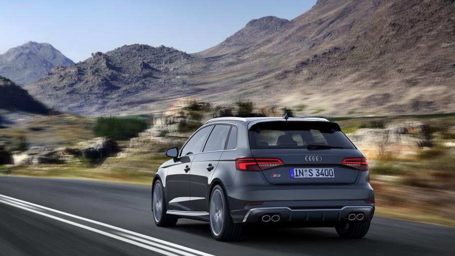 Audi S3 Sportback Auspuff