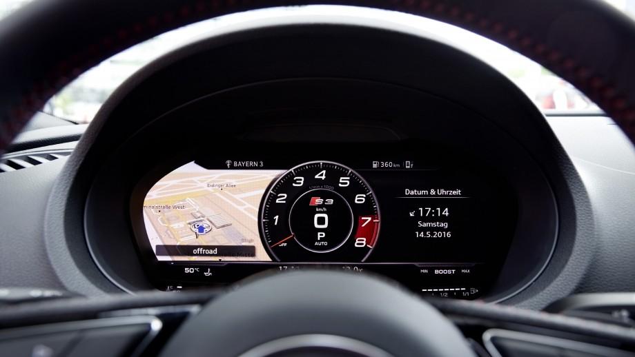 Audi S3 Limousine Cockpit