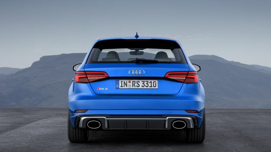 Audi RS3 Sportback Auspuff