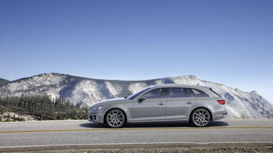 Audi A4 Avant Seite