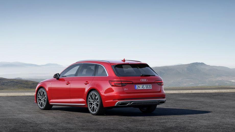Audi A4 Avant Heck