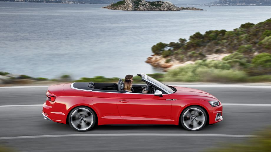 Audi S5 Cabriolet offen