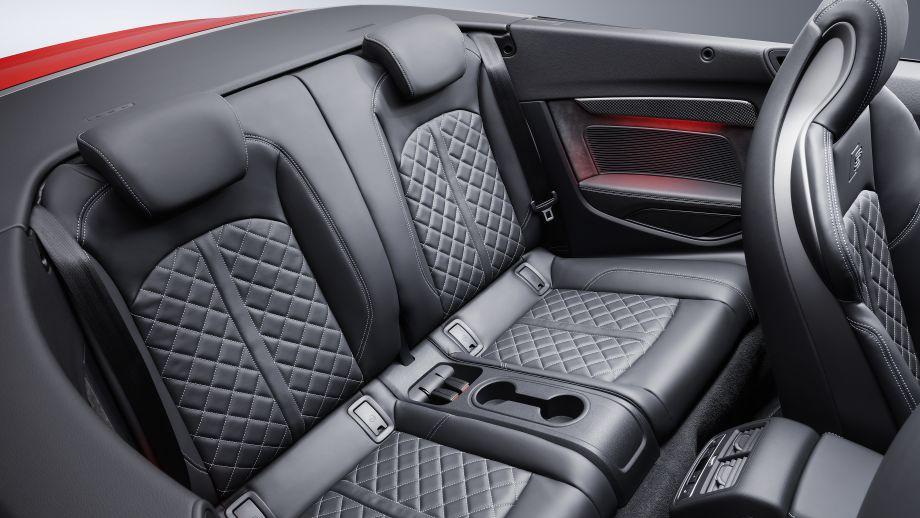 Audi S5 Cabriolet Rückbank
