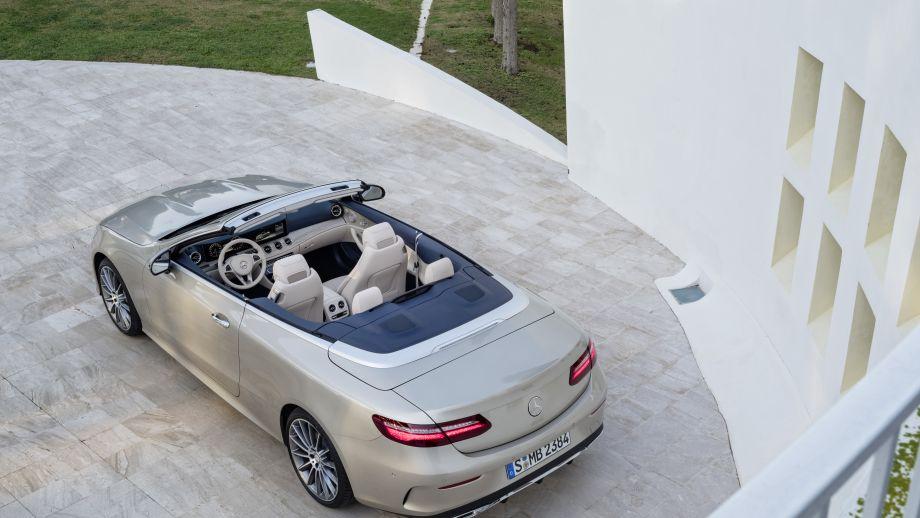 Mercedes-Benz E-Klasse Cabriolet offen