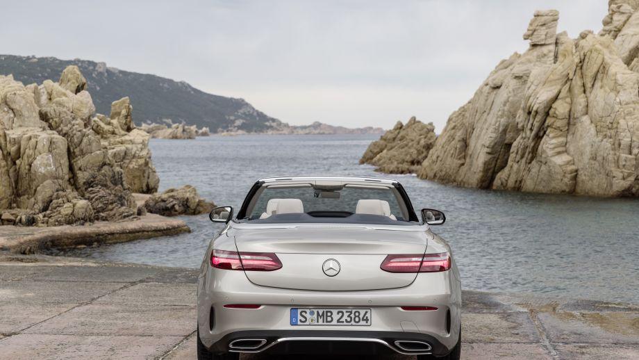 Mercedes-Benz E-Klasse Cabrio Heck
