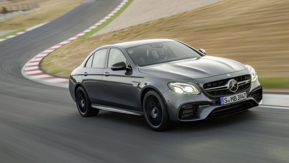 Mercedes-AMG E63 4MATIC+ Rennstrecke