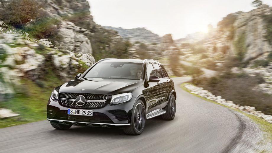 Mercedes-AMG GLC 43 4MATIC Coupé schwarz