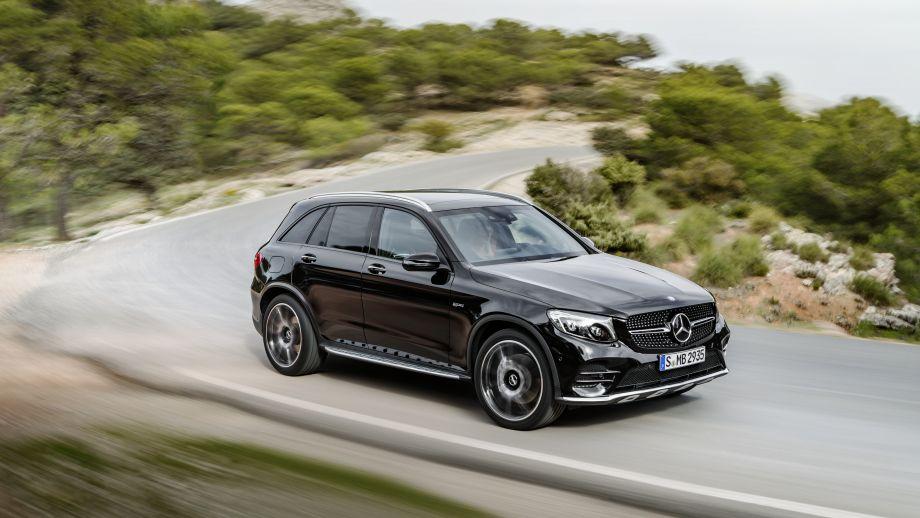 Mercedes-AMG GLC 43 4MATIC SUV schwarz