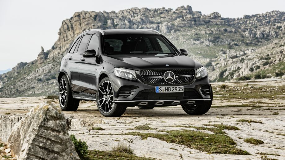 Mercedes-AMG GLC 43 4MATIC Coupé Front